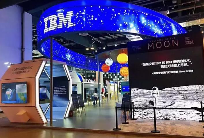 没有IBM和IBM提供的技术,我们无法登上月球