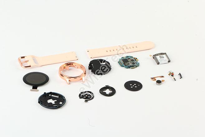 采用内支撑模块的 Galaxy Watch Ac...