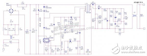 LED次级恒流设计