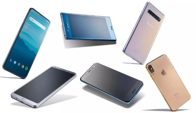 Gartner,2019年第二季度智能手机的销量...
