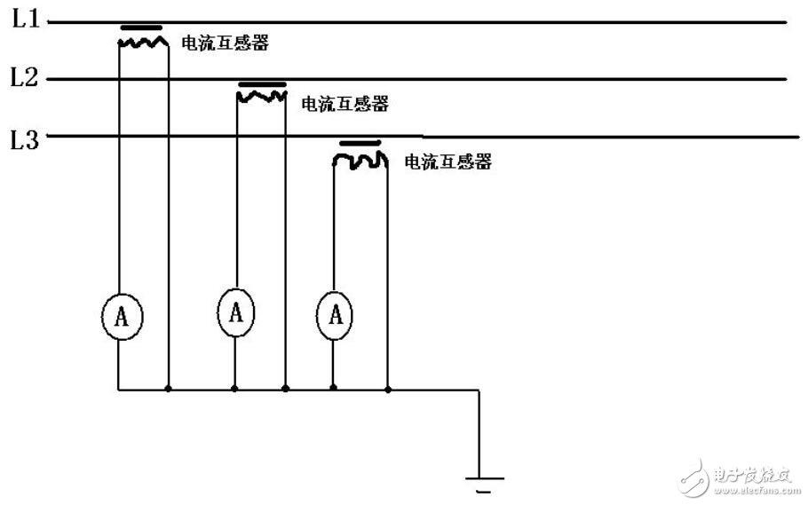 电流表如何接在电流互感器上