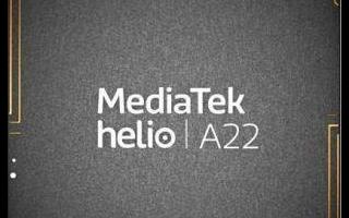 联发科最新发布Helio A22嵌入式处理器