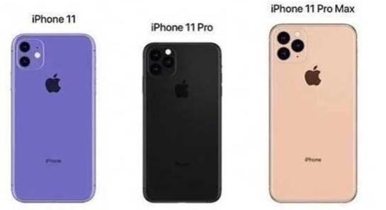 iPhone 11系列三款配置规格曝光并将于9月...