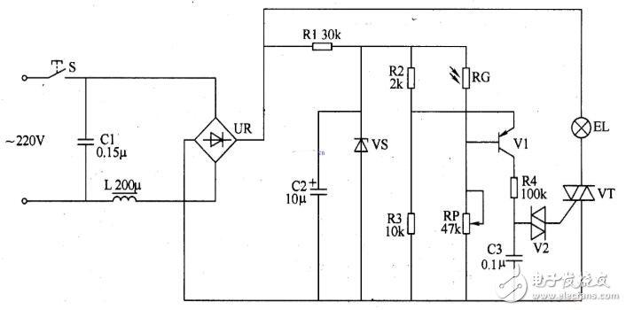 多款雙向晶閘管調光電路