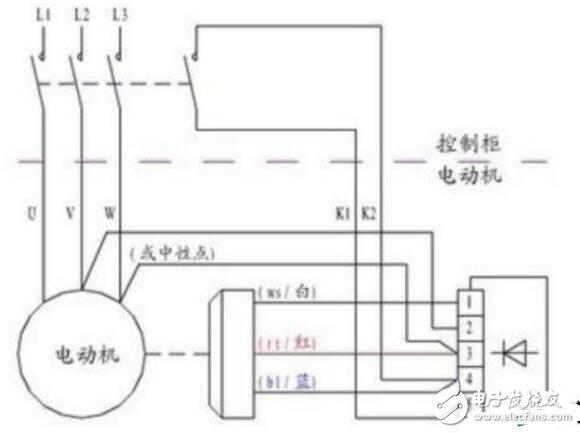 电机保护继电器如何接线