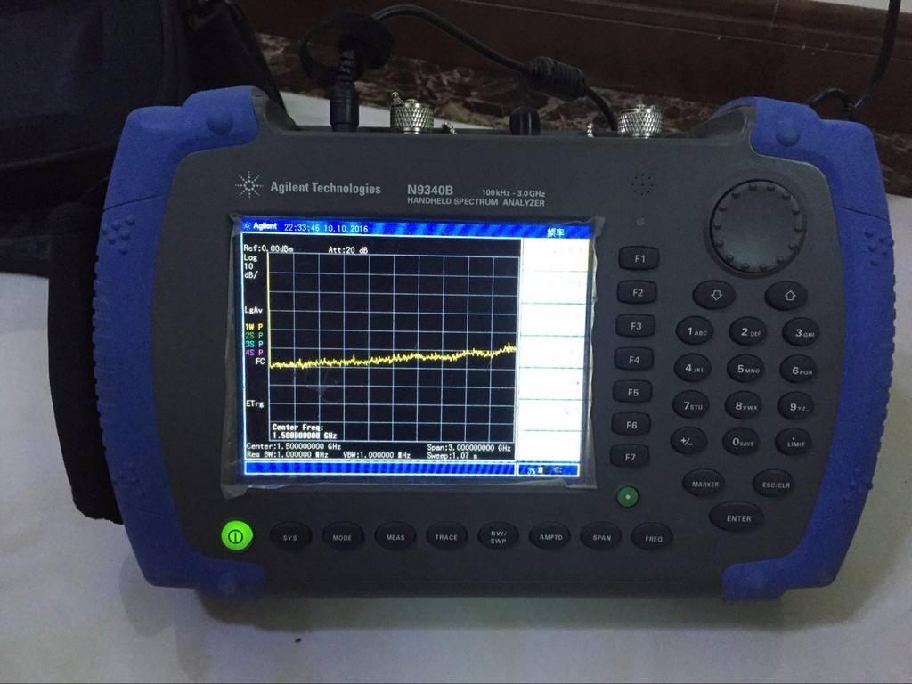 頻譜分析儀的VFB設置