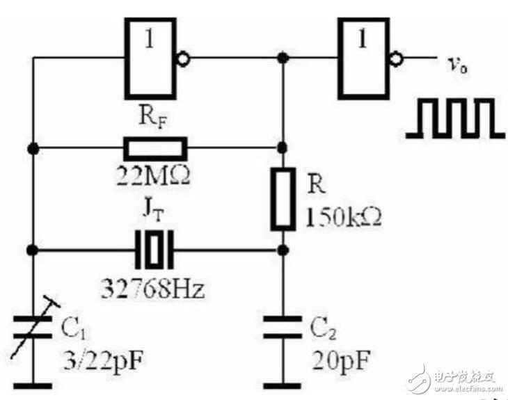 晶振电路电容的作用