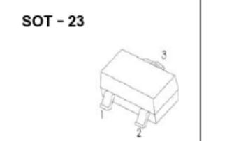 SOT-23塑料封裝晶體貼片三極管的數據手冊免費下載