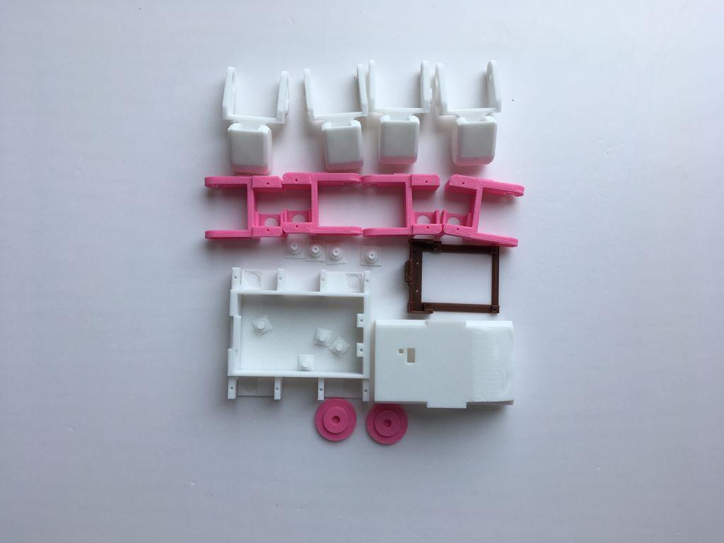 3D打印四足机器人的制作图解