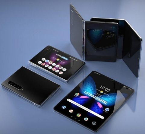 三星Galaxy Fold 2专利图曝光采用了水滴造型设计搭载六颗摄像头