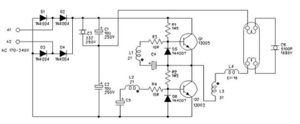 电子镇流器的工作原理和特点优势分析