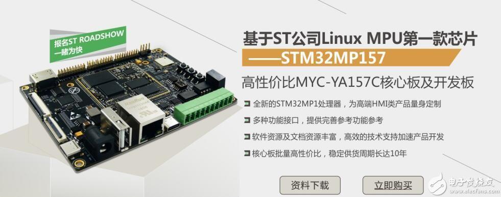STM32MP157高性能微处理器产品介绍