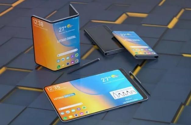 LG可折叠手机专利曝光,配有手写笔支持手写输入