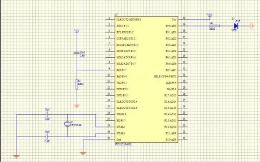 如何进行STC12单片机双向端口的设置
