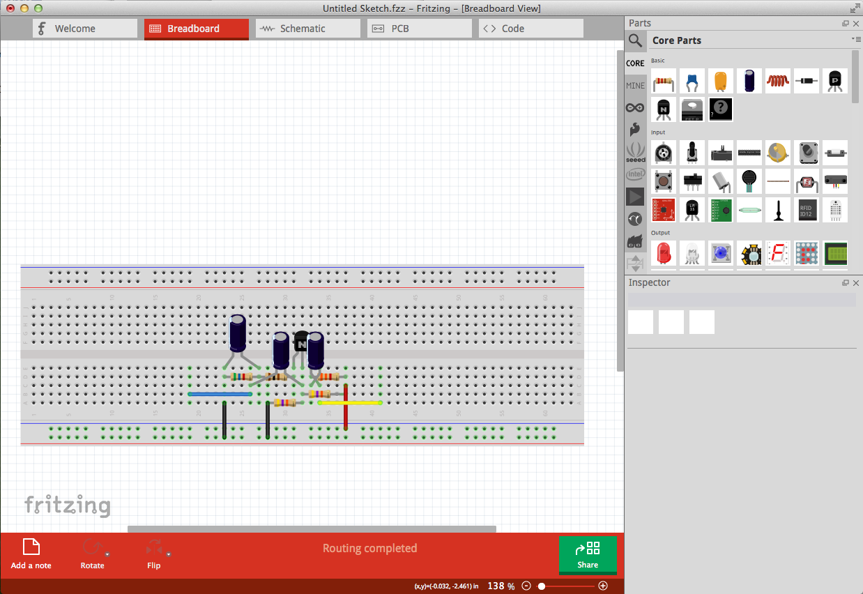 Fritzing如何让设计从概念转变为PCB