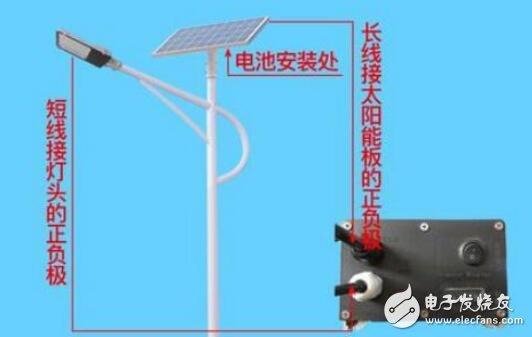 太阳能路灯工作原理