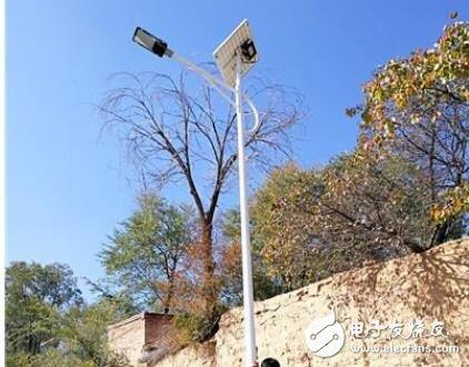 锂电池太阳能路灯安装及接线方法
