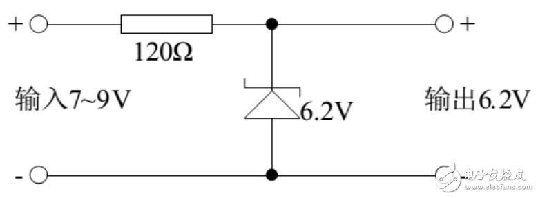 稳压二极管稳压电路