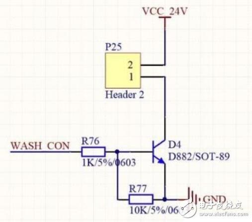 开关电路中三极管限流电阻的选择