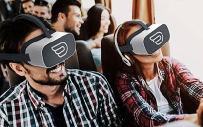 利用VR技術來緩解長途旅途的枯燥