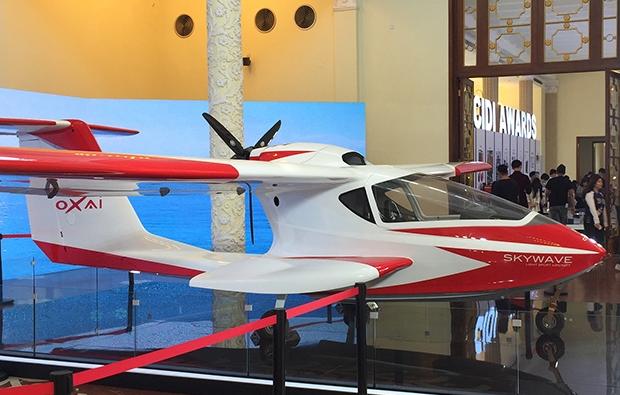 上海展覽會推出了ARJ21公務機內飾VR體驗