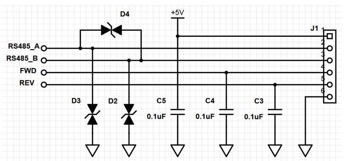 ESD电容电路图分析