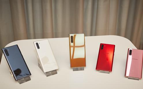 三星正式推出了其第一款商用5G手機三星Galaxy Note10
