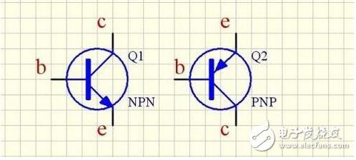PNP三極管和NPN三極管的開關電路