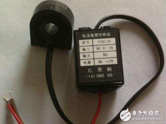 直流漏电流传感器原理