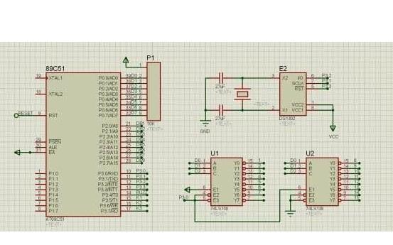 使用51单片机和DS1302芯片设计的LED时钟的C语言程序和工程文件