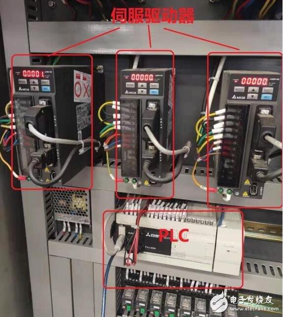 伺服电机如何与plc连接