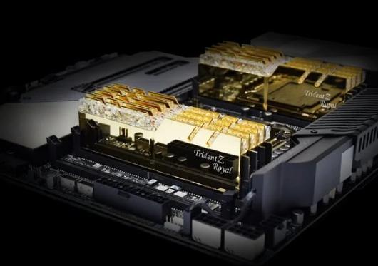 芝奇推出全新皇家戟系列高端内存 8×8GB DDR4-4300
