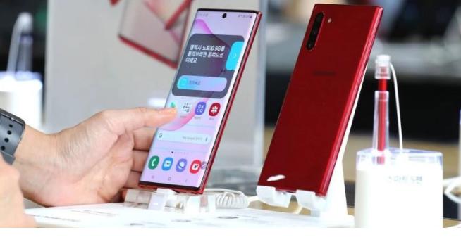 三星推出新款Galaxy Note 10,周四开...