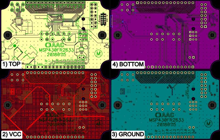 微控制器的电容控制面板PCB设计有哪些需要注意