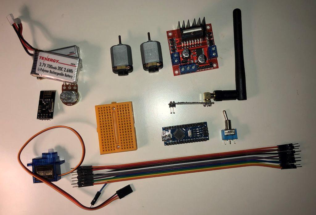 如何3D打印Arduino遥控船与控制器