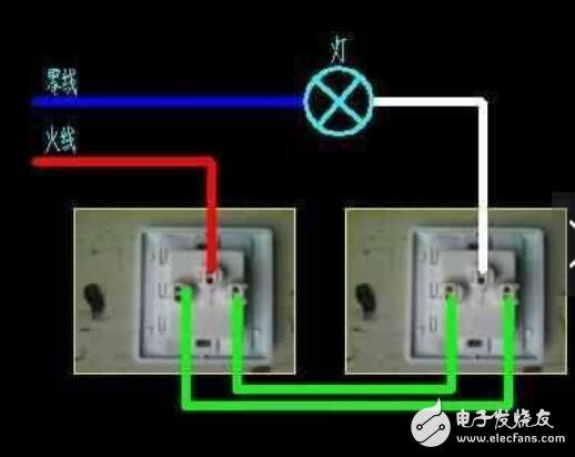 双控开关的工作原理图_双控开关内部构造图片