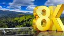 5G时代,电视厂商纷纷宣布推出或者即将推出各自的8K产品