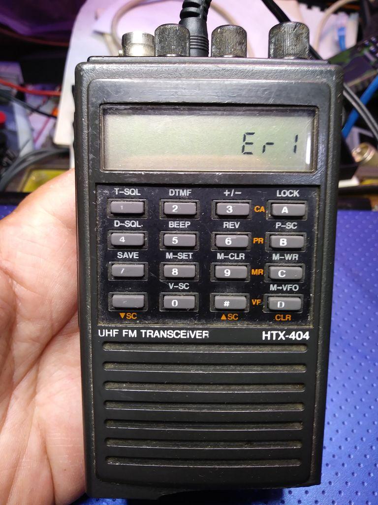 如何更换Htx202或Htx404HamRadio上的内存电池