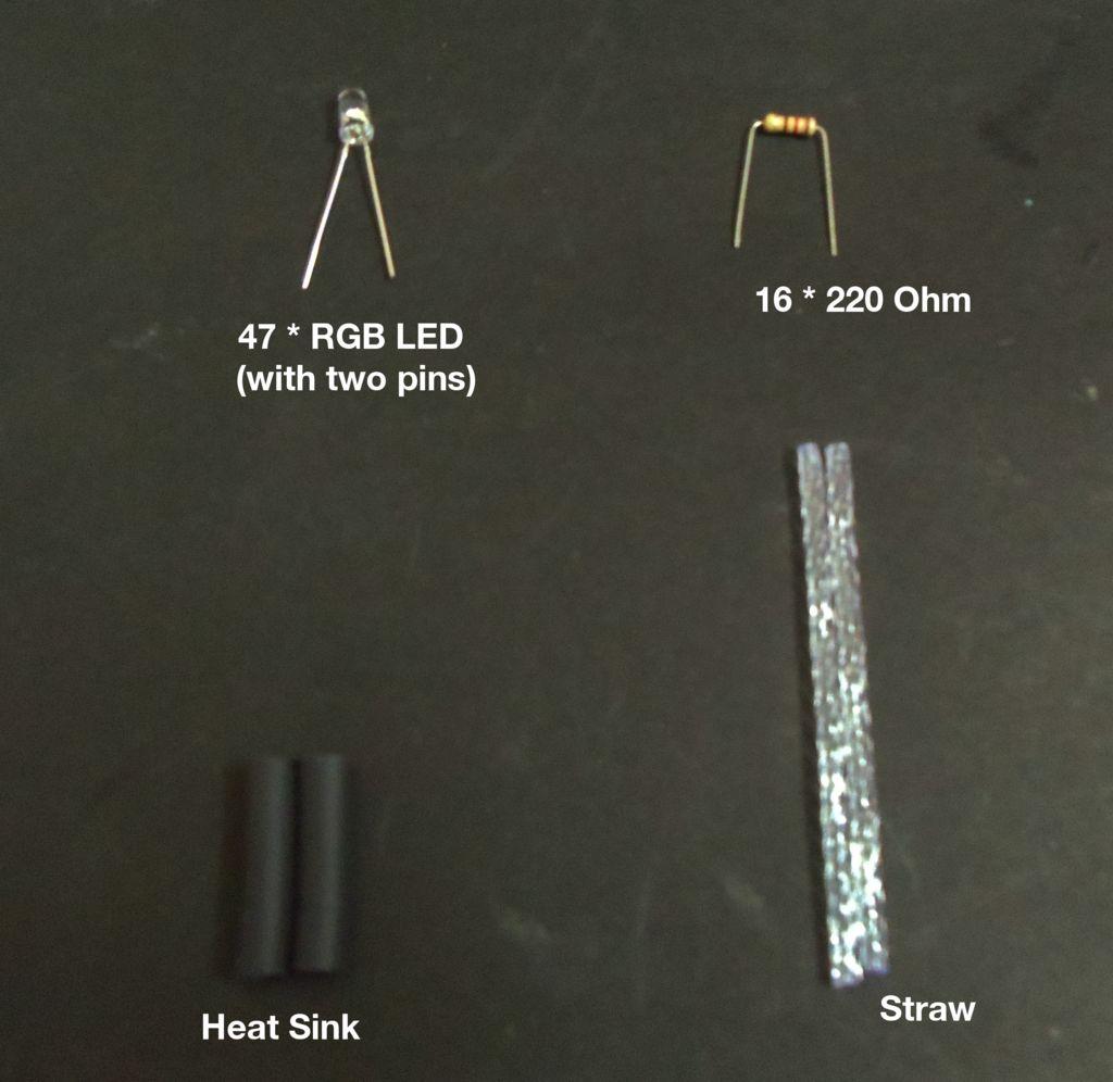 装饰花RGBLED灯的制作教程