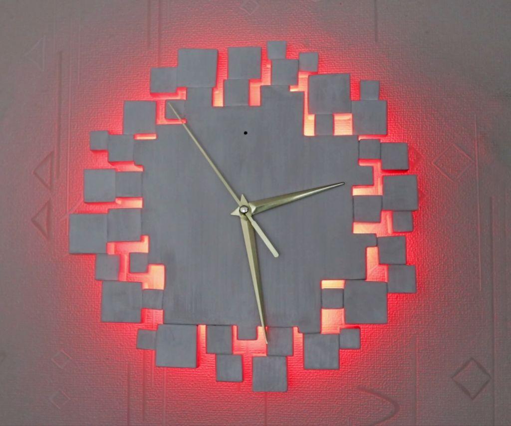 LED壁钟DIY图解