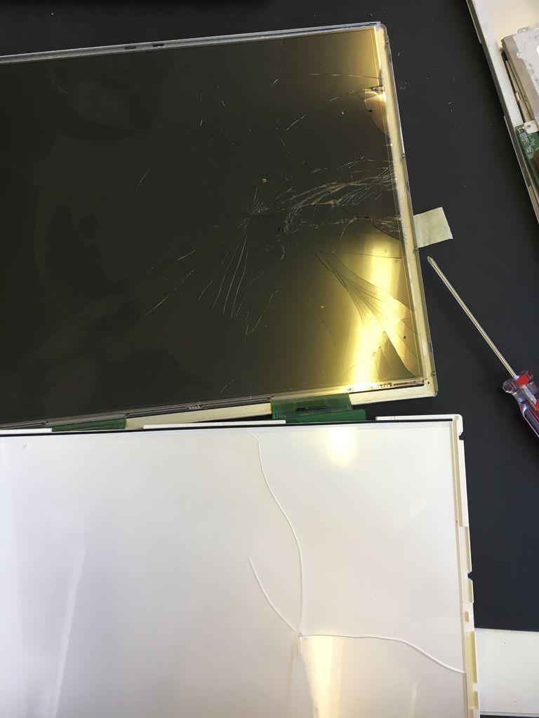 如何用破碎屏幕制作创意LED灯