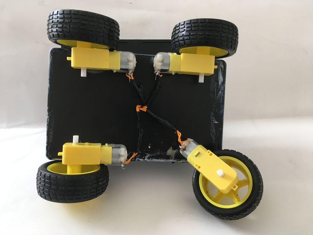 全自动机器人制作图解