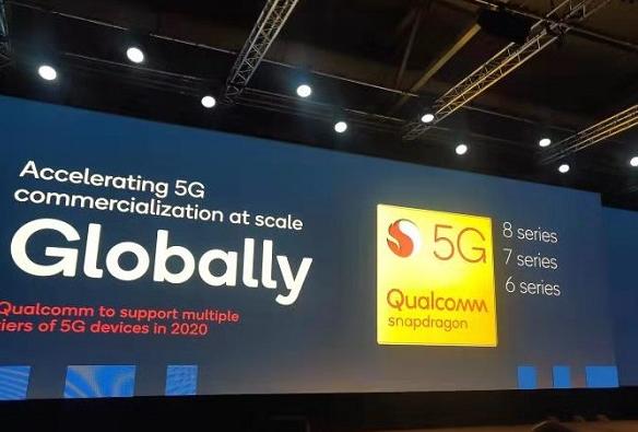 Qualcomm已在超过150款5G终端设计中采用了5G解决方案