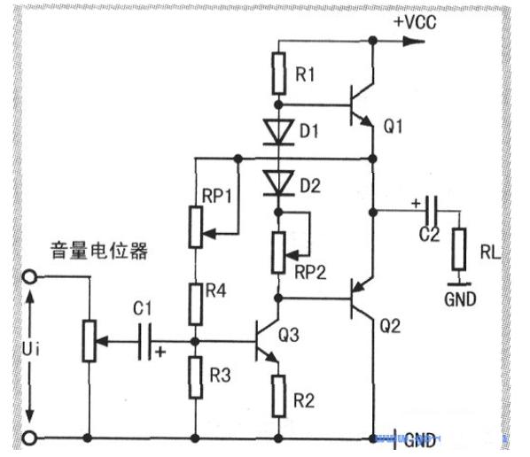 功放时偏置电阻参数的确定