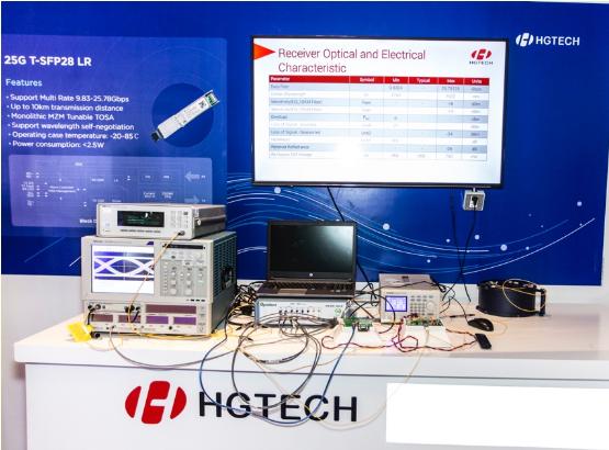 华工正源发布了业界首款5G可调彩光模块