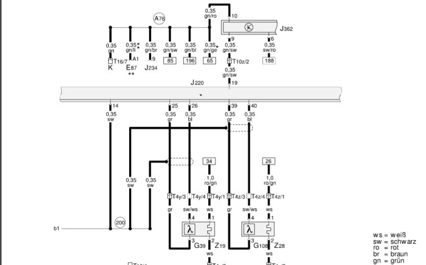 奥迪A4全车系电路图合集手册免费下载