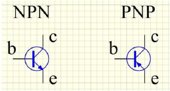 PNP與NPN晶體管的檢測方法