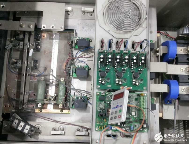 变频器电流传感器故障诊断及修复方法