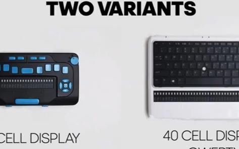 首款盲人笔记本电脑内置蓝牙技术和无线网络