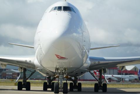 澳洲货运航空正式迎来了两架波音747-8F货机
